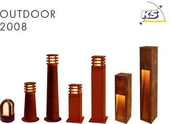 outdoor aussenleuchten 2008 von ks leuchten. Black Bedroom Furniture Sets. Home Design Ideas