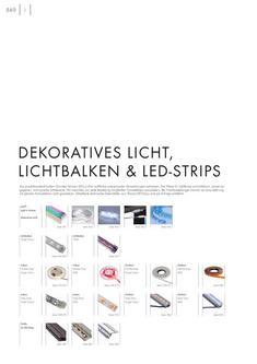 LED Technik, LED, LEDs, LED Strips, Flex LED, Fiber 2012
