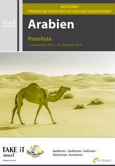 Preisliste Arabische Emirate