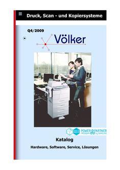 Druck, Scan - und Kopiersysteme Q4/2009