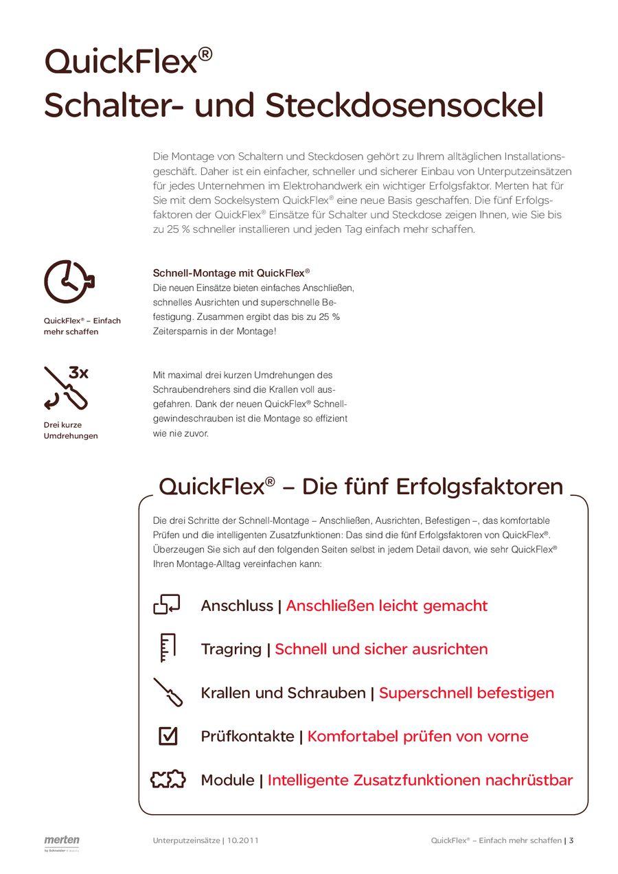 QuickFlex (MEG1913-0001) 2012 von Merten