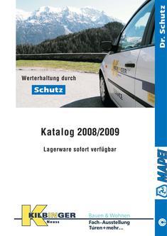Schutz 2008/2009
