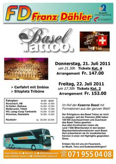 Basel Tattoo 2011