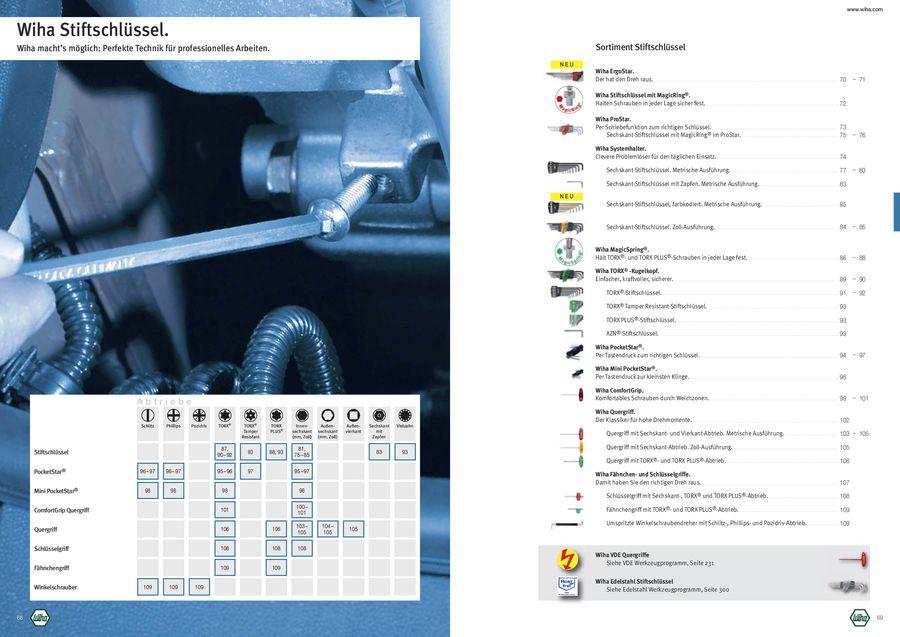 01345 Wiha Stiftschl/üssel mit Quergriff TORX/® mattverchromt T50 x 250 mm