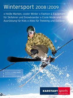 Wintersport 2008/2009