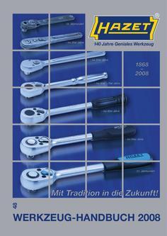 Werkzeug-Handbuch 2008