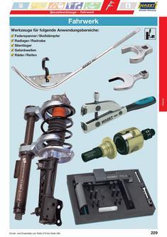 Werkzeug für Fahrwerk 2013