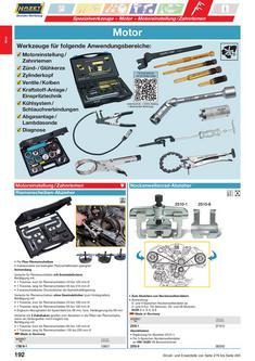 Werkzeug für Motor 2013