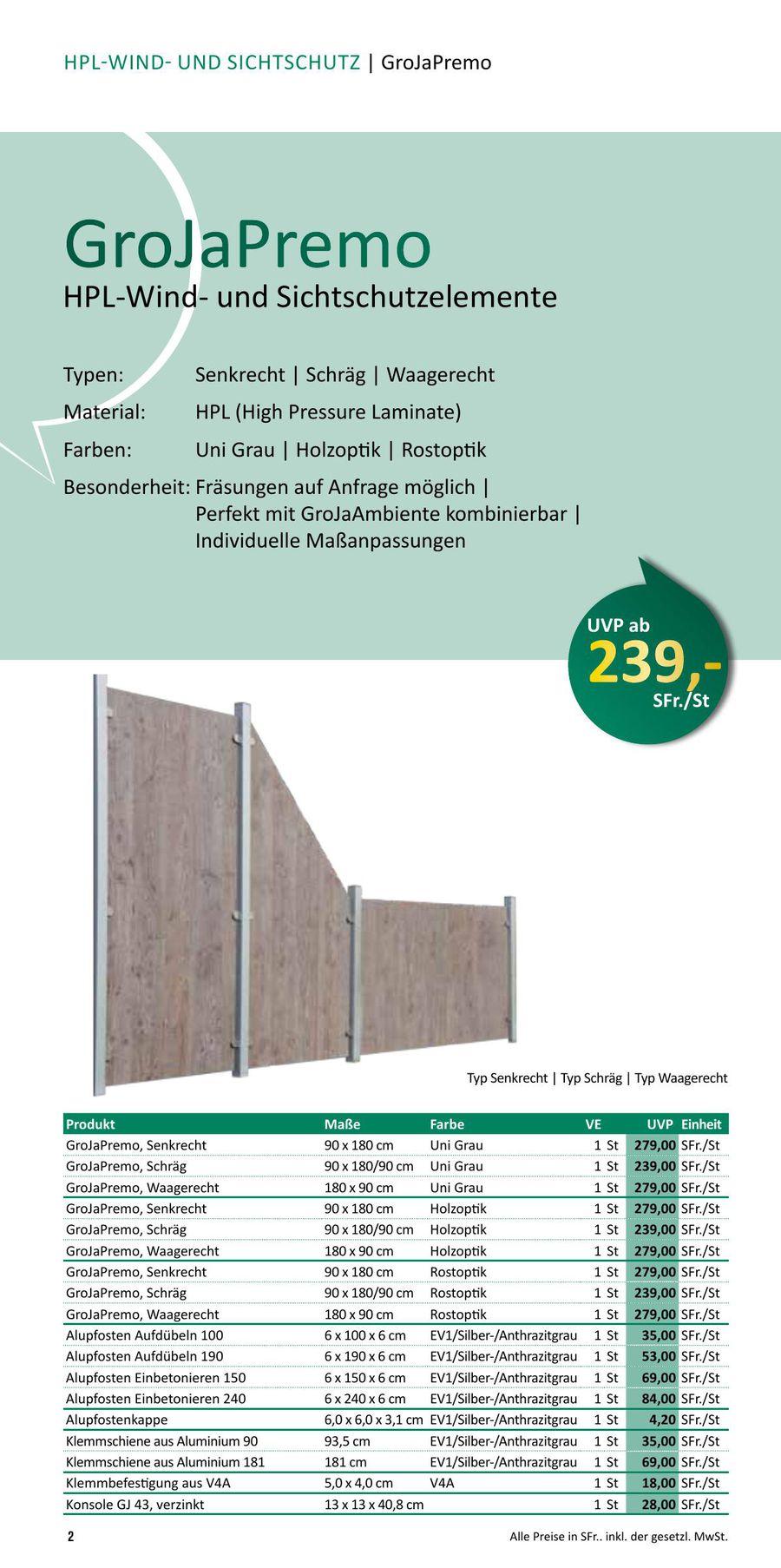 Sichtschutz Wpc Und Kunststoff Alpenzaun Neuheiten 2015 Von Dobeli