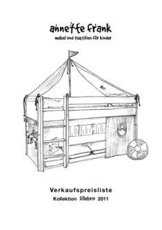 Verkaufspreisliste Kollektion lillebro 2011