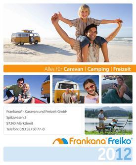 Alles für Caravan - Camping - Freizeit 2012