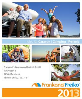 Alles für Caravan - Camping - Freizeit 2013