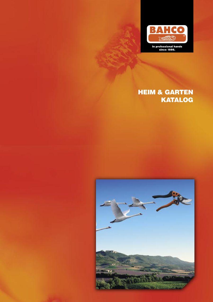 Heim & Garten 2009 von BAHCO Hand Tools