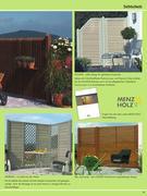 holz sichtschutz f r garten in sch ner wohnen in haus und garten 2007 von holz richter. Black Bedroom Furniture Sets. Home Design Ideas