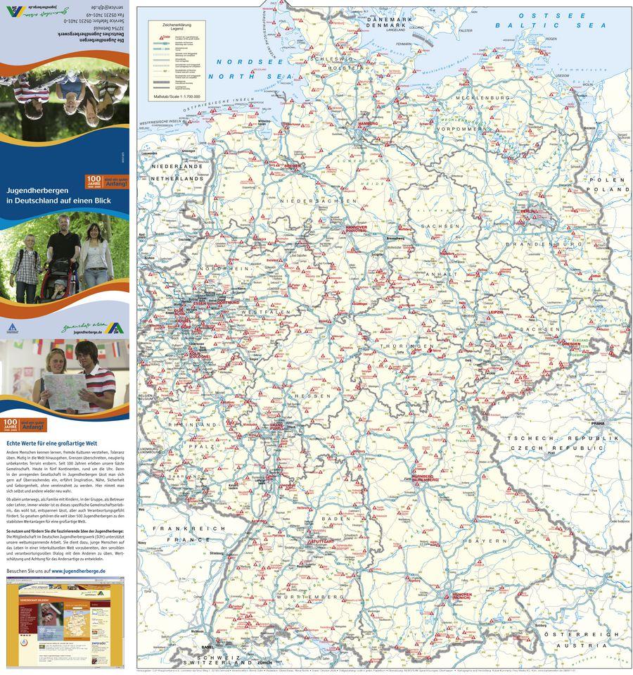 Jugendherbergen In Deutschland Auf Einen Blick Von Djh