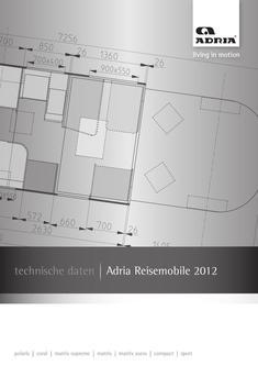 Motorhome Technische Daten 2012