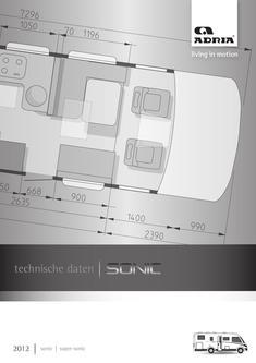 Sonic Technische Daten 2012