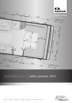 Caravan Technische Daten 2013