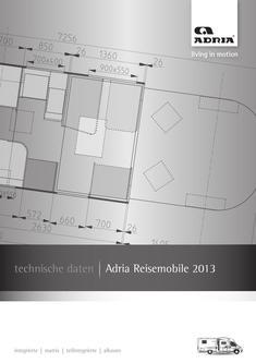 Motorhome Technische Daten 2013