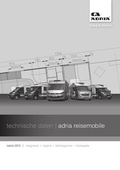 Technische Daten Reisemobile 2014