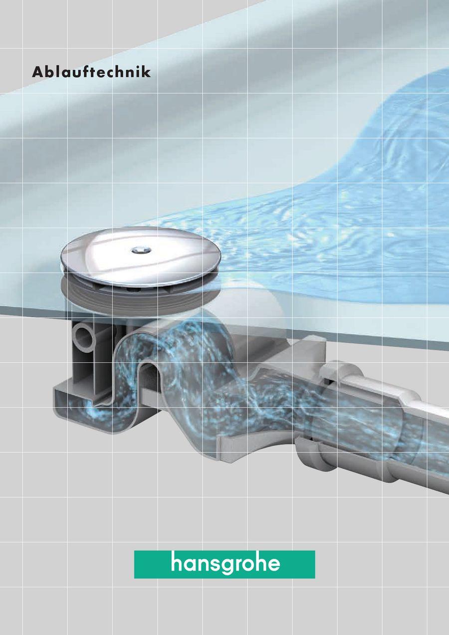 Ablauftechnik von Hansgrohe AG