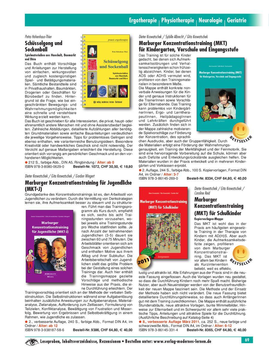 Seite 19 von Ergotherapie 2011