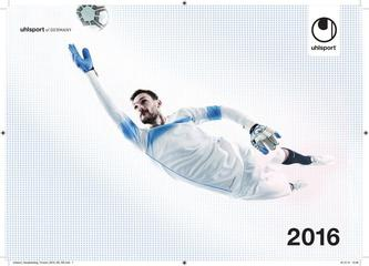 Uhlsport Torwartkatalog 2016