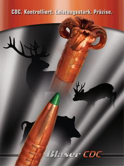 Blaser CDC Munition 2014