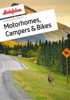 Preisliste Motorhomes, campers und bikes April 2014 bis Maerz 2015
