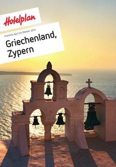 Preisliste Griechenland, Zypern April bis Oktober 2014