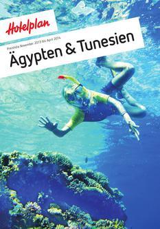 Preisliste Ägypten & Tunesien November 2013 bis April 2014