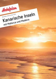 Kanarische Inseln November 2014 bis April 2015