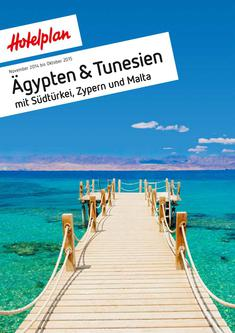 Ägypten & Tunesien November 2014 bis April 2015