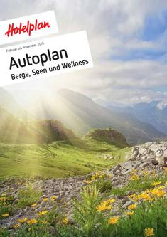 Autoplan (Berge, Seen und Wellness) Februar bis November 2015