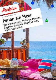 Ferien am Meer Nov 2016 bis Apr 2017