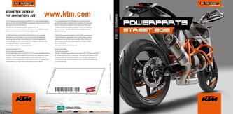 KTM PowerParts Street 2012