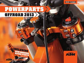 KTM PowerParts Offroad 2013