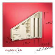schrank selber bauen in schr nke einfach selber planen und bauen von schrankplaner. Black Bedroom Furniture Sets. Home Design Ideas