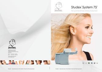 mdr in system 75 schmerzfreies ohrlochstechen von studex ohrlochstechvertrieb. Black Bedroom Furniture Sets. Home Design Ideas