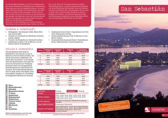 Sprachreisen Spanisch in San Sebastián Spanien 2012