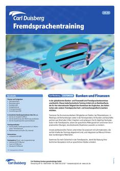 Customized Banken und Finanzen 2011