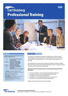 Competence Professional Training 2011