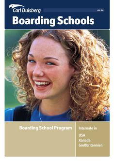 Carl Duisberg Boarding School Program 2011