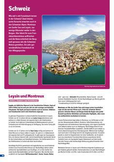 Schülersprachreisen in Schweiz 2011