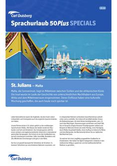 Sprachurlaub/50Plus Malta - St. Julians 2012