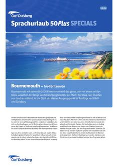 Sprachurlaub/50Plus England - Bournemouth 2012