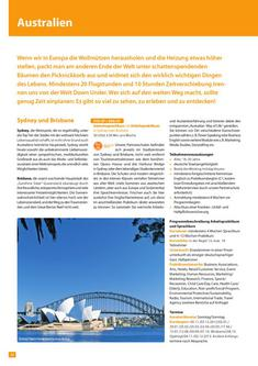Study, Work and Volunteer Australien 2013