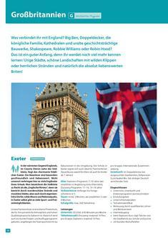Sprachreisen und Auslandspraktikum Großbritannien 2013