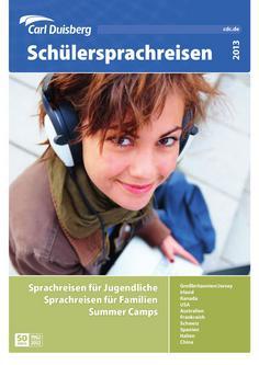 Sprachreisen und Auslandspraktikum 2013