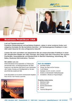 Business Praktikum USA 2011